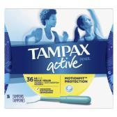 【第2件半價+滿$40額外8.5折】Tampax 丹碧絲運動系列 內置導管式衛生棉條 36條 $5.36(約38元)