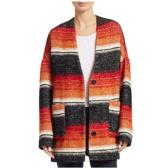 IRO Jeans 格紋中長款羊毛大衣 $246.39(約1,731元)