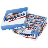 【湊單品】knoppers 牛奶榛子巧克力威化餅干家庭裝 24包 €9.9(約77元)