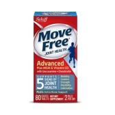 【買1送1+滿額8.5折】藍盒!Schiff Move Free 維骨力 氨基葡萄糖軟骨素+MSM&維生素D3 80粒 $11.89(約82元)