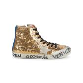 Golden Goose 金色亮片高幫休閑鞋 $352.49(約2,435元)