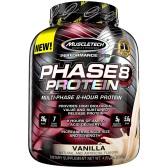 【中亚Prime会员】Muscletech 肌肉科技 Phase 8 高性能缓释蛋白粉 2.09kg 香草味 到手价224元
