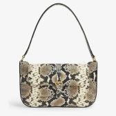 时博最爱!BY FAR Miranda python 蟒蛇纹单肩包 £530(约4,749元)