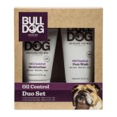 Bulldog 男士控油凈膚護膚套裝 控油保濕霜 100ml+控油洗面奶 150ml £4(約36元)