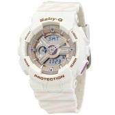【海淘專享】補貨!Casio 卡西歐 Baby-G 系列 米白色運動腕表 BA110-CH7-ADR $84.99(約582元)