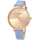 【海淘專享】Olivia Burton 金色女士小眾時尚腕表 OB16BD111 $38.99(約266元)