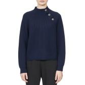 Acne Studios 領口飾紐扣羊毛針織衫 ¥2,160