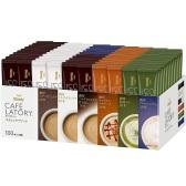 【日亚自营】AGF Blendy 6种口味速溶咖啡/拿铁 100包 日元3634.2(约227元)+40积分