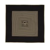 Totême Venezia 黑白配色丝巾 $148(约1,018元)