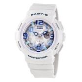 【海淘專享】Casio 卡西歐 Baby-G 系列 白色運動腕表 BGA-190-7BDR $73(約498元)
