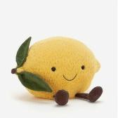 Jellycat Amuseable Lemon 大号柔软柠檬造型毛绒玩具 ¥160