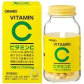 【日亞自營】ORIHIRO 歐力喜樂 維生素C咀嚼片 300粒 824日元(約52元)