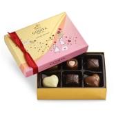 Godiva 歌帝梵 情人节巧克力什锦礼盒 6颗 $8.97(约62元)