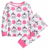 Disney 迪士尼 玛丽猫女孩睡衣套装 $10(约70元)