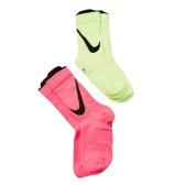 Nike 耐克 Swoosh Dri-FIT 2双装中筒袜 $18(约125元)
