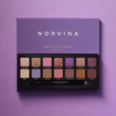 Anastasia Beverly Hills ABH粉紫色系14色眼影盘 Novina $33.6(约232元)