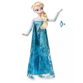 Disney 迪士尼 冰雪奇缘 Elsa 艾莎经典娃娃+戒指 $11.21(约78元)