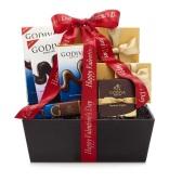Godiva 歌帝梵 情人节巧克力庆祝篮 $45.97(约320元)