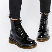 【满$150享7折】Dr. Martens 1460 经典漆皮马丁靴 $69.3(约482元)