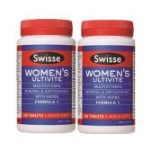 【包邮套装】Swisse 复合维生素抗氧化草本精华片 120片*2件 75.95澳币(约314元)