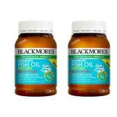 【包邮】Blackmores 澳佳宝 深海鱼油迷你胶囊 400粒 2瓶 49.95澳币(约215元)