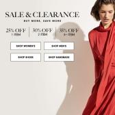 Neiman Marcus :精选折扣区男女服饰鞋包饰品美妆 最高3件额外65折