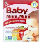 Hot Kid Baby Mum-Mum 苹果南瓜米饼 50g $3.14(约22元)