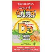 Nature's Plus 维生素 D3 片 500IU 黑樱桃味 90片 $6.42(约45元)