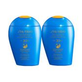 【包邮包税】Shiseido 资生堂 新艳阳夏臻效水动力防晒乳液 蓝胖子 SPF30 150ml*2瓶 €55(约431元)