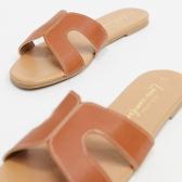 【超低价】New Look H 型外缝线平底凉鞋 ¥90