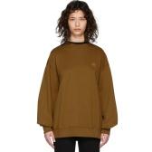 Acne Studios 棕色廓形卫衣 $166(约1,173元)