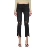 Frame 黑色 Le High Straight 牛仔裤 $155(约1,095元)