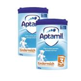 【包邮包税】 Aptamil 奥地利爱他美 Junior 婴幼儿配方奶粉3 +(36 个月以上) 800g*2罐 €45.9(约360元)