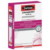 Swisse 高强度蔓越莓泡腾片 60片 22.95澳币(约109元)