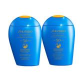 【包邮包税】Shiseido 资生堂 新艳阳夏臻效水动力防晒乳液 蓝胖子 SPF50+ 150ml*2瓶 €60(约470元)  BA5 BA8