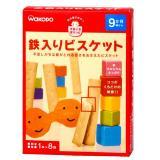 wakodo 和光堂 磨牙饼干 (1袋×8包)×4箱