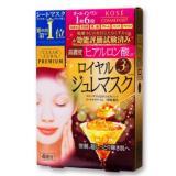 KOSE 高絲 玻尿酸 黃金果凍面膜 30g*4片