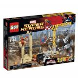 LEGO 乐高 Super Heroes超级英雄系列 76037 犀牛与睡魔的超级恶霸大集结