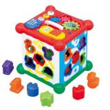 Toyroyal 新六面盒 多功能数字屋形状配对玩具