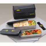 THERMOS 膳魔师 DSD-1101WBK 不锈钢保温保冷饭盒