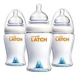 Munchkin 满趣健 Latch系列宝宝奶瓶 3件套