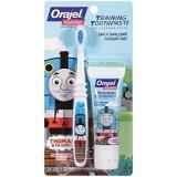 Orajel Thomas and Friends 托马斯火车婴儿无氟可吞咽牙膏+宝宝软毛牙刷套装