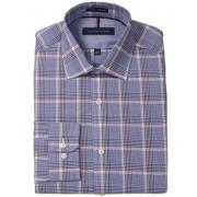 TOMMY HILFIGER Slim-Fit Plaid 男士修身衬衫