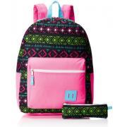 TRAILMAKER 女童印花书包 含笔袋