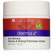 Derma e Anti-Wrinkle Vitamin A Retinyl Palmitate 抗皱维A面霜 113g