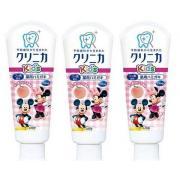LION 狮王Disney 儿童牙膏 蜜桃味 60g*3支装