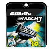 Gillette 吉列 锋速3 剃须刀刀片(10片)
