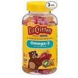 L'il Critters 丽贵 儿童鱼油DHA软糖 120粒*3瓶