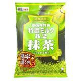 UHA 悠哈 味觉糖 特浓牛奶夹心糖 抹茶味 84g*6袋