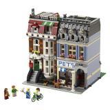 LEGO 乐高 Creator 10218 Town Hall 街景系列 宠物店